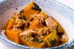 かぼちゃとツナの煮物