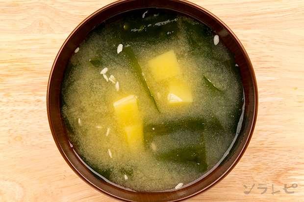 ジャガイモとワカメの味噌汁_main2