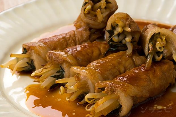 もやしと香味野菜の豚肉巻き_main1