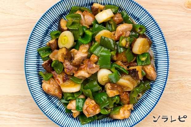 鶏肉とピーマンの炒め物_main2