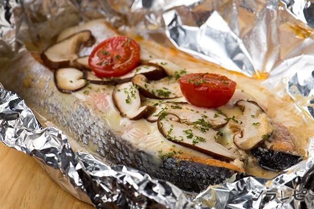 鮭のミルク味噌チーズ焼き_main1