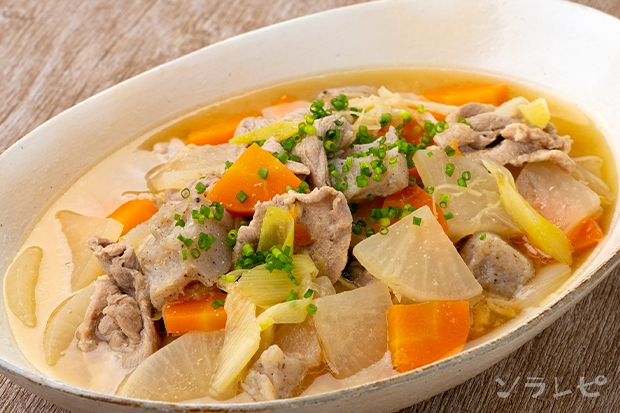 豚肉と大根の味噌煮_main1