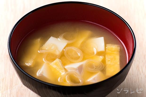 豆腐と油揚げと長ネギの味噌汁_main1