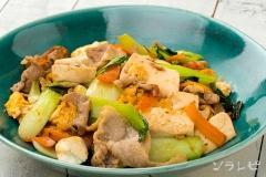 チンゲン菜のチャンプルー