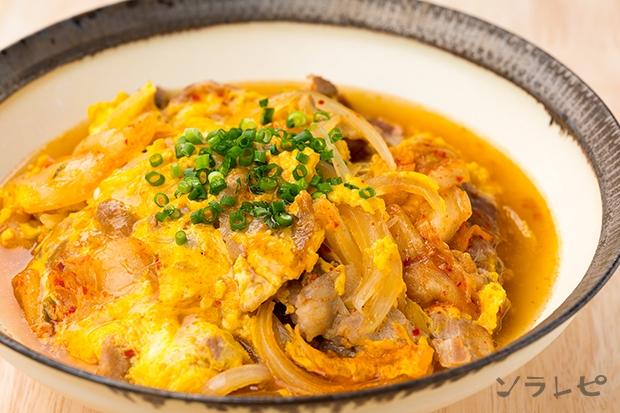 豚肉とキムチの卵とじ_main1