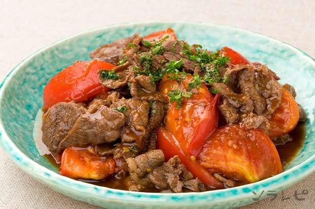 牛肉とトマトのガーリックソテー_main1