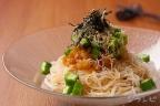オクラおろし素麺