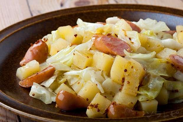 ジャガイモのマスタード炒め_main1