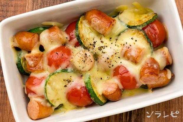 ズッキーニとミニトマトのチーズ焼き_main2