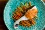 鱈のくずたたき梅肉ソースがけ_sub2