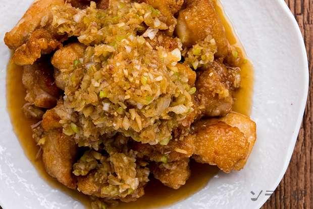 鶏唐揚げの香味ソースがけ_main2