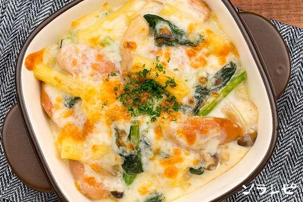 小松菜のマカロニグラタン_main2