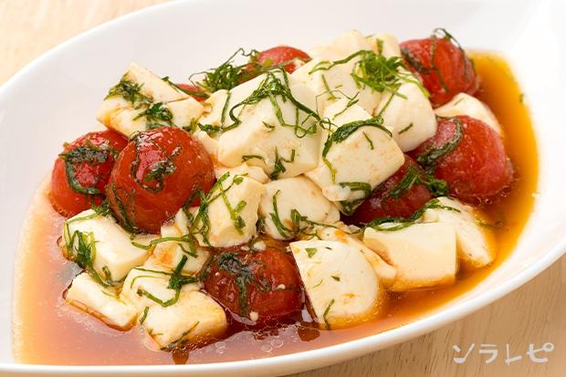 ミニトマトと豆腐のサラダ_main1