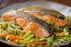 鮭のちゃんちゃん風焼き