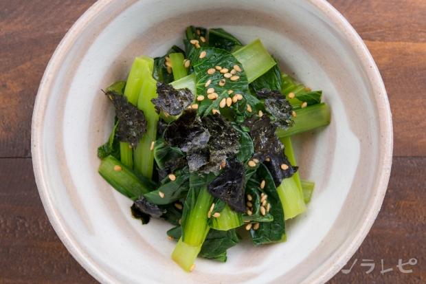 小松菜の海苔ゴマ和え_main2