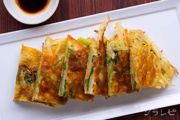 小松菜とチーズのチヂミ_main2