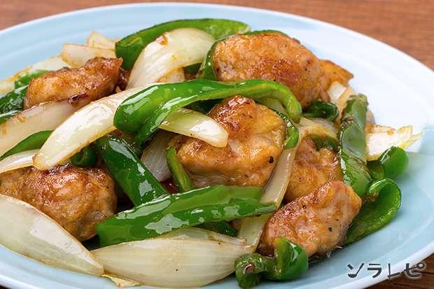 鶏肉とピーマンのオイスター炒め_main1