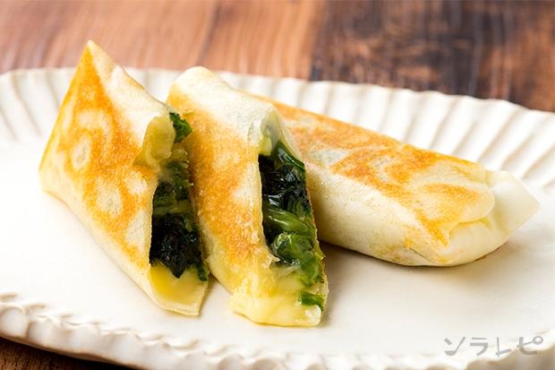 ほうれん草とチーズの焼き春巻き_main1