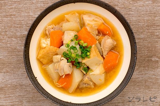 鶏肉と厚揚げの味噌煮_main2