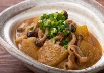 冬瓜と豚肉のごま味噌煮
