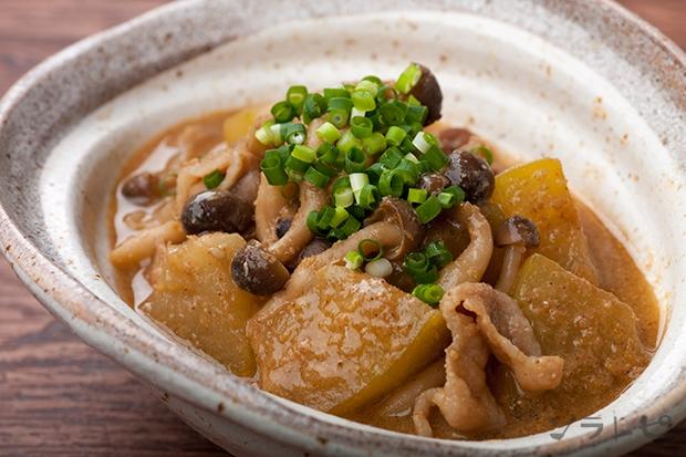冬瓜と豚肉のごま味噌煮_main1