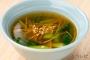 チンゲン菜と生姜の中華スープ_sub1
