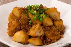 里芋のシラス炒め