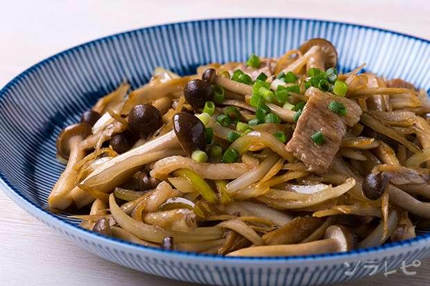 豚肉とゴボウの甘辛炒め_main1