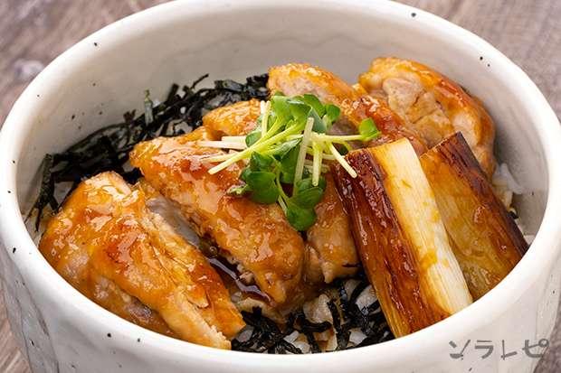 鶏の照り焼き丼_main1