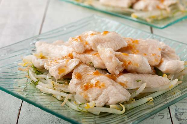 鶏肉のくずたたき梅肉ソースがけ_main1