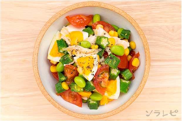 鶏ササミと彩り野菜のマリネ_main2