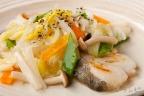 白身魚の五目野菜あんかけ