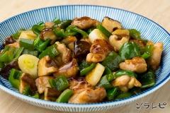 鶏肉とピーマンの炒め物