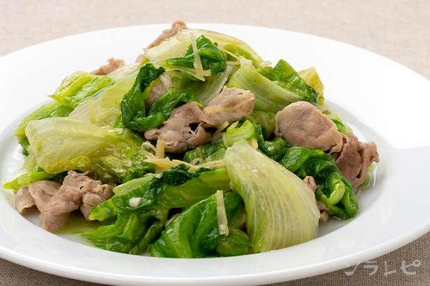 豚肉とレタスの塩炒め_main1