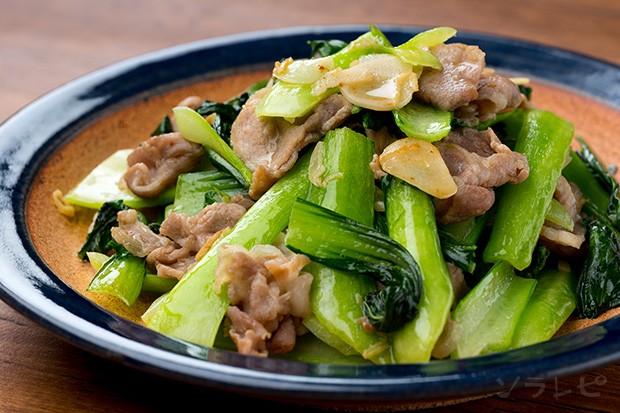 豚肉とチンゲンサイの塩炒め_main1