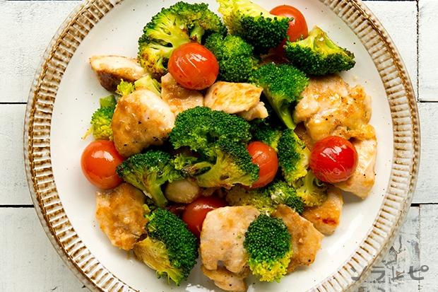 鶏肉とブロッコリーのニンニク炒め_main2