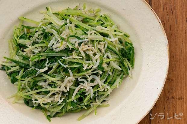 水菜とシラスのめんつゆ炒め_main2