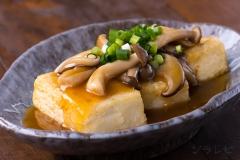 豆腐のきのこあんかけ