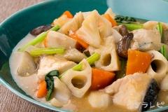 ぶりと根菜の味噌煮