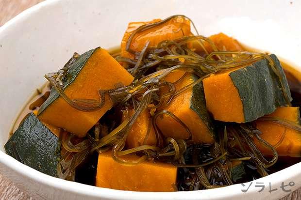 かぼちゃと切り昆布の煮物_main1