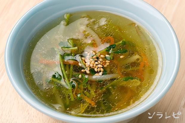 もやしと豆苗のスープ_main2