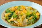 レタスと卵の中華炒め