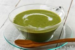 ほうれん草の冷たいスープ