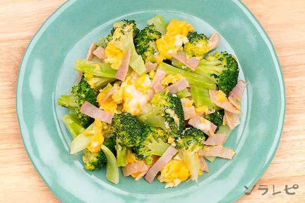 ブロッコリーと卵のマヨ炒め_main2
