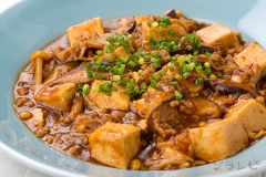 きのこの麻婆豆腐
