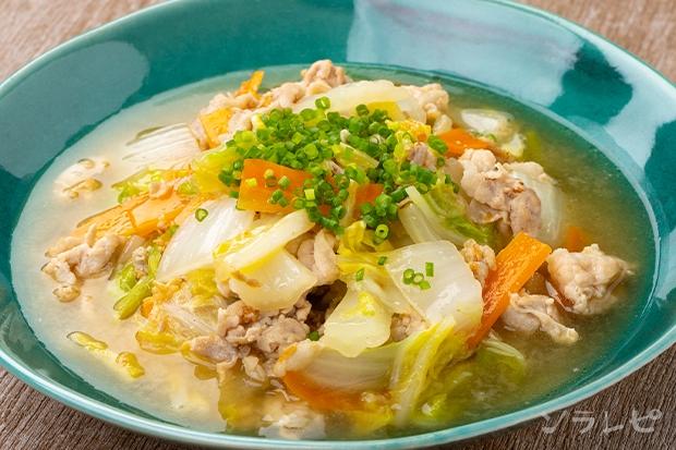 豚肉と白菜のニンニク味噌煮_main1