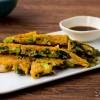 小松菜とシラスのチヂミ