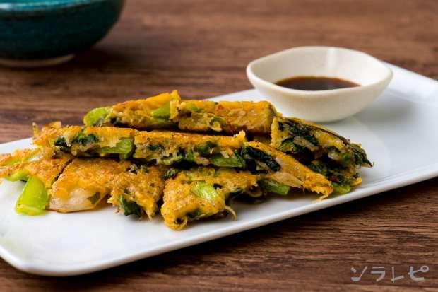 小松菜とシラスのチヂミ_main1