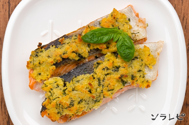 鮭のバジルパン粉焼き_main2