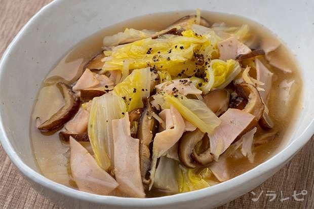 白菜と干し椎茸の蒸し煮_main1